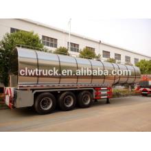 3 eixos 49000L reboque de tanque de óleo de cozinha