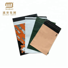 100% biodegradable material disposable strong tamper proof custom plastic envelope airmail