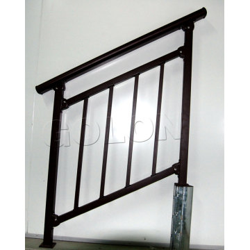 Wrought Iron Handrails Outdoor Stairs