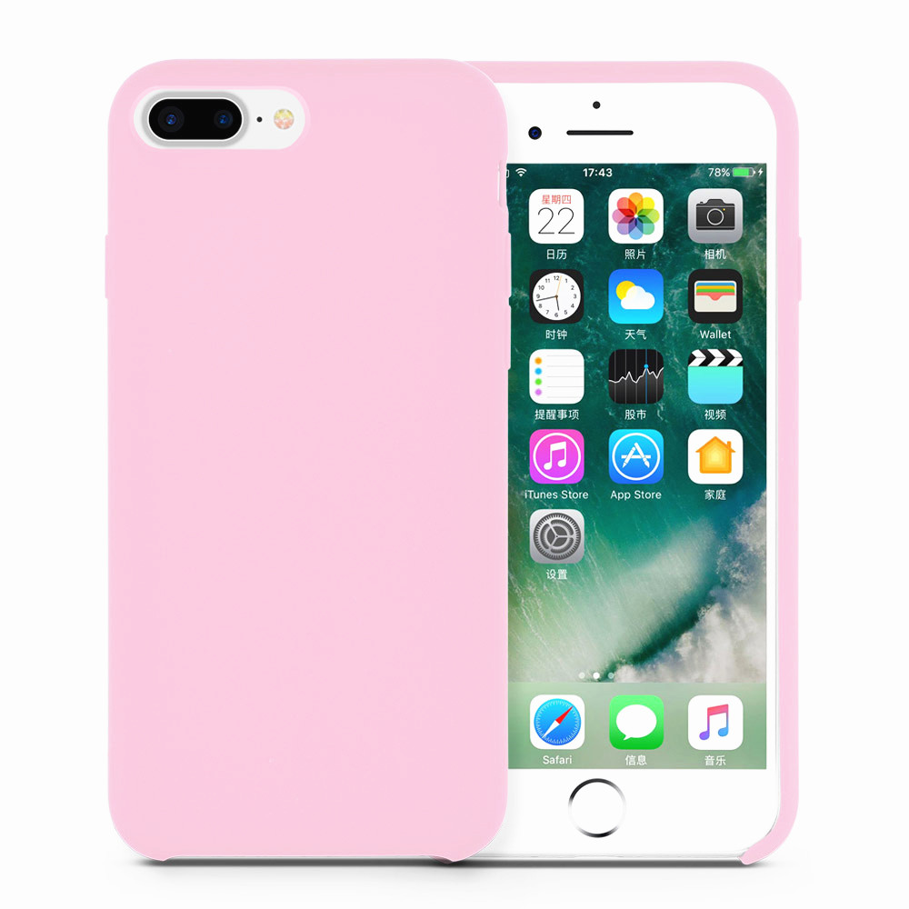 lovely liquid silicone phone cover