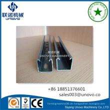 C Shaped Unistrut Steel Channel