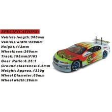 1: 10 Electric RC Camiones RC Modelo