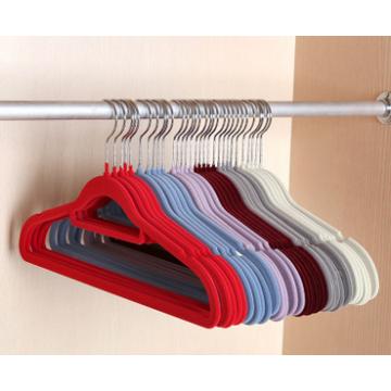 Бархат костюм вешалка для простых форм фактора Slim-Line костюм стекались вешалка