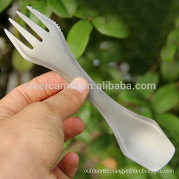 Fire Maple T23 Portable 3-in-1 Titanium Cutlery Tableware Titanium Spoon/Fork/Knife/Spork