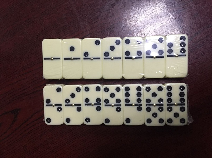 ivory color dominoes