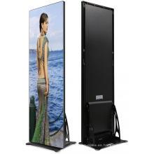 Exhibición de publicidad de la caja de luz LED interior P2.5