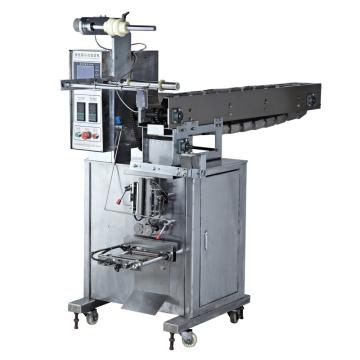 Machine d'emballage verticale de type à trois côtés