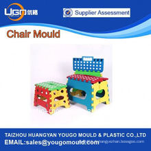 2013 Hot sale populaire nouvelle conception en plastique pliage Injection chair moule à Huangyan Chine