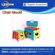 2013 quente venda popular novo desenho plástico dobrável molde cadeira de injeção em Huangyan China