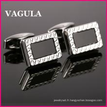Boutons de manchettes VAGULA haute qualité en laiton (L51504)