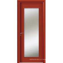 Portas interiores de WPC, porta francesa de WPC (KG08)
