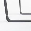Metal black powder coating dining table leg
