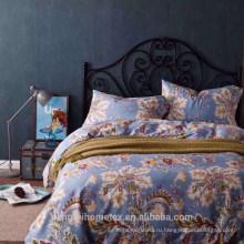 Хорошее качество полиэфира разогнать печатных микрофибры ткань для листа постельных принадлежностей с хорошим качеством на продажу