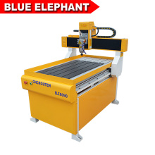 Small T-slot table 6090 water tank cnc cutter for aluminum/PVC