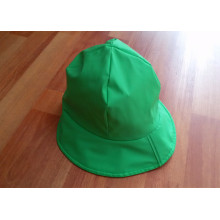 Green PU Raincoat for Child