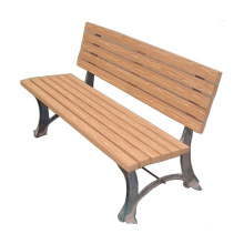 Wooden Plastic Compound Outdoor Garden Bench for Park