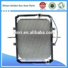 Radiateur de refroidissement en aluminium pour pièces de rechange de camions foton