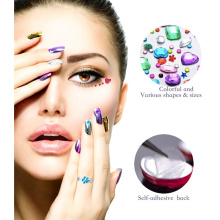 Self Adhesive Body Rhinestone Crystal Custom Face Sticker