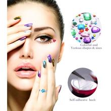 Etiqueta decorativa móvel de cristal do vinil da cor de MOQ 500 Nontoxic