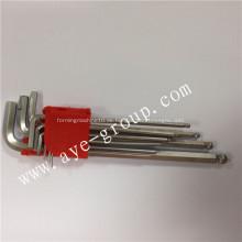 Kugelkopf lange Sechskantschlüssel mit 9 Stk