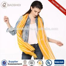 Модный шарф с длинным шарфом