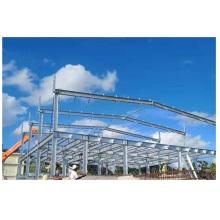 Steel Building Construction Prefabricated Galvanized Metal H Steel Column