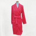 Red robe fluffy pajamas