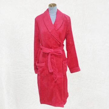 Pyjama moelleux robe rouge