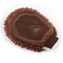 Салфетки для ухода за домашними животными из микрофибры Deshedding Brush Gloves