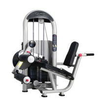 Gym Workout Equipment/Seated Leg Curl with Double Painted Frame, Ideal for Professional Use