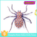 Commerce de gros Dernières Fashion Men's Metal Animal Fabergé Spider Broche