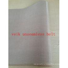 PTFE ленты ремня unseamless для фьюзинга машина покрынная PTFE ткань стеклоткани теплостойкий анти-статические, антипригарным