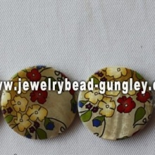 elegant flower freshwater shell beads