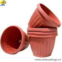 OEM изготовленный на заказ пластичный Цветочный горшок для украшения сада