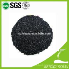 Le charbon actif de coquille de noix de coco de grain chaud-vente pour promotionnel