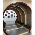 Dekorativ montierte Korridor-Fensterleuchte in Muschelform