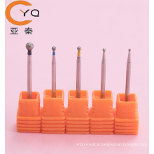 Original factory produced round shaped nail drill diamond bit for manicure