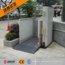 Behinderte Menschen zu Hause Mini-Lift direkt ab Werk