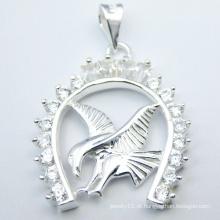 Jóia animal especial do pendente da prata do projeto