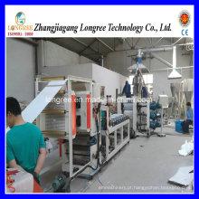 2017 Novo 500mm PVC Folha / PVC Borda Banding Linha de Extrusão / com Talhadeira