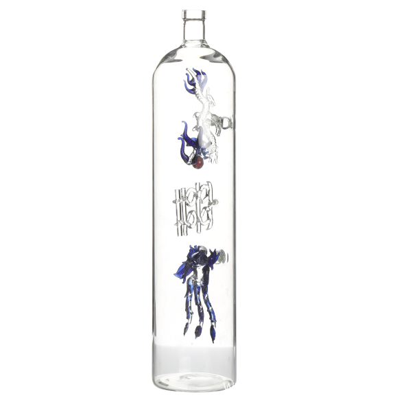 Glass liquor bottles vodka glass bottle
