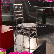 Banquet chiavari chaises romantiques