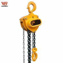 HS-C type manual chain hoist hand operated winch 1~30ton