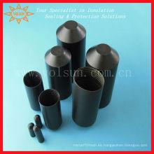 Cubierta de terminal de plástico negro
