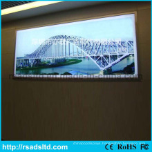 Outdoor Waterproof LED Textile Fabric Light Box