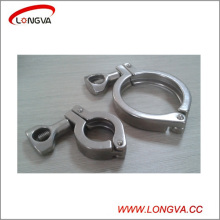 Sanitary Stainless Steel Pipe Fitting Tri-Clover Clamp