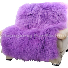 Europe style for for Mongolian Fur Throw Blanket Real Mongolian Lamb Fur Carpets And Rugs supply to Chad Exporter