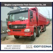 Sinotruk HOWO 371HP 8*4 40ton Side Dumper for Coal Transportation