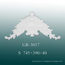 Accessoires classiques de décoration d'intérieur en polyuréthane pour mur