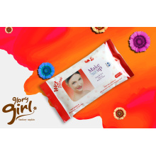 Personal antibacterial cleaning wet wipes